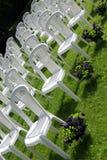 γάμος λήψης εδρών Στοκ Εικόνες