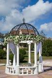 γάμος λήψης λουλουδιών & Στοκ Εικόνες