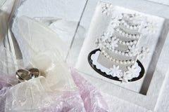 γάμος λευκωμάτων Στοκ Εικόνες