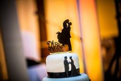γάμος νεόνυμφων διακοσμή&sig στοκ εικόνα