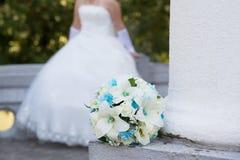 γάμος νεόνυμφων εκκλησιών τελετής νυφών Στοκ Φωτογραφίες