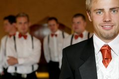 γάμος νεόνυμφων Στοκ φωτογραφία με δικαίωμα ελεύθερης χρήσης