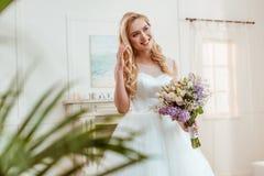 1 γάμος νυφών ανθοδεσμών Στοκ φωτογραφία με δικαίωμα ελεύθερης χρήσης