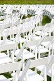 γάμος οργάνωσης εδρών τελετής Στοκ Φωτογραφίες