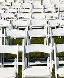 γάμος οργάνωσης σειρών εδρών ξύλινος Στοκ εικόνες με δικαίωμα ελεύθερης χρήσης