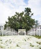 γάμος λουλουδιών τελετής νυφών στοκ φωτογραφίες με δικαίωμα ελεύθερης χρήσης