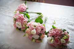 γάμος λουλουδιών Στοκ Φωτογραφία
