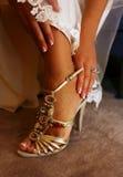 γάμος παπουτσιών Στοκ εικόνες με δικαίωμα ελεύθερης χρήσης