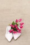 γάμος παπουτσιών Στοκ Φωτογραφίες