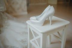 γάμος παπουτσιών Στοκ Φωτογραφία