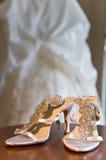 γάμος παπουτσιών Στοκ Εικόνες