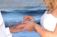 Γάμος παραλιών Στοκ εικόνα με δικαίωμα ελεύθερης χρήσης