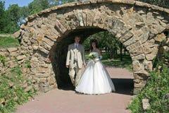 γάμος περιπάτων Στοκ φωτογραφία με δικαίωμα ελεύθερης χρήσης