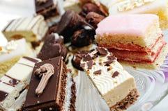γάμος πιάτων κέικ Στοκ φωτογραφία με δικαίωμα ελεύθερης χρήσης