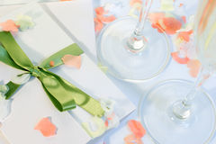 γάμος πρόσκλησης Στοκ Εικόνες