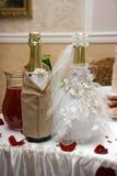 γάμος σαμπάνιας Στοκ Εικόνες