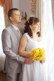 Γάμος σε ένα όμορφο μέγαρο Στοκ φωτογραφίες με δικαίωμα ελεύθερης χρήσης