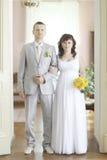 Γάμος σε ένα όμορφο μέγαρο Στοκ Φωτογραφίες