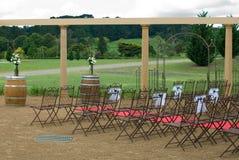 γάμος σκηνής Στοκ Φωτογραφία