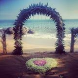 Γάμος στην παραλία στοκ εικόνα με δικαίωμα ελεύθερης χρήσης