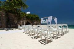 Γάμος στην παραλία Στοκ φωτογραφίες με δικαίωμα ελεύθερης χρήσης