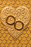 γάμος στοιχείων καρτών Στοκ Φωτογραφία