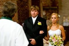 γάμος τελετής Στοκ εικόνα με δικαίωμα ελεύθερης χρήσης
