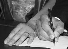 γάμος τελετής Στοκ Εικόνες