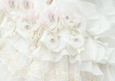 γάμος τεμαχίων φορεμάτων Στοκ φωτογραφία με δικαίωμα ελεύθερης χρήσης