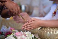 γάμος της Ταϊλάνδης Στοκ φωτογραφία με δικαίωμα ελεύθερης χρήσης