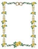 γάμος τριαντάφυλλων συμβ απεικόνιση αποθεμάτων