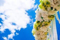Γάμος υπαίθριος Στοκ φωτογραφία με δικαίωμα ελεύθερης χρήσης