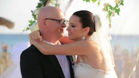 γάμος φιλιών απόθεμα βίντεο
