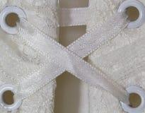 γάμος φορεμάτων κορσέδων Στοκ Εικόνες