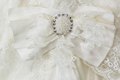 γάμος φορεμάτων πορπών Στοκ εικόνα με δικαίωμα ελεύθερης χρήσης