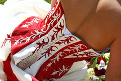 γάμος φορεμάτων Στοκ Φωτογραφία