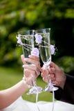 γάμος φρυγανιάς Στοκ Εικόνα