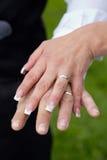 Γάμος χεριών Στοκ Φωτογραφίες