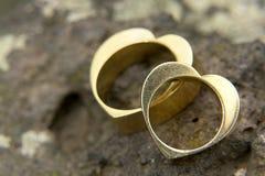 γάμος 2 δαχτυλιδιών Στοκ εικόνες με δικαίωμα ελεύθερης χρήσης