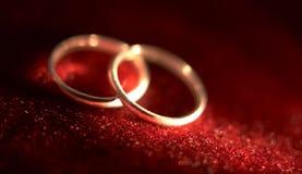 γάμος 2 δαχτυλιδιών Στοκ φωτογραφία με δικαίωμα ελεύθερης χρήσης
