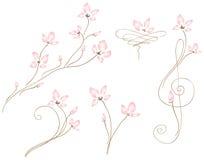 γάμος fleurs διανυσματική απεικόνιση