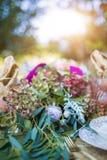 Γάμος floral Στοκ φωτογραφίες με δικαίωμα ελεύθερης χρήσης