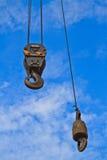 Γάντζος γερανών Στοκ Φωτογραφίες