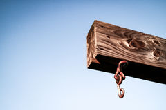 Γάντζος πειρατών Στοκ εικόνα με δικαίωμα ελεύθερης χρήσης