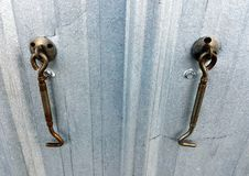 Γάντζος πορτών στοκ φωτογραφία με δικαίωμα ελεύθερης χρήσης