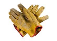 Γάντια ασφάλειας Στοκ φωτογραφίες με δικαίωμα ελεύθερης χρήσης