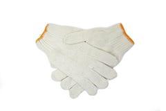 Γάντια βαμβακιού Στοκ Φωτογραφίες