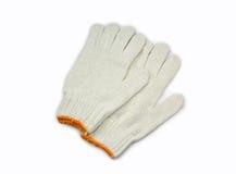 Γάντια βαμβακιού Στοκ Φωτογραφία