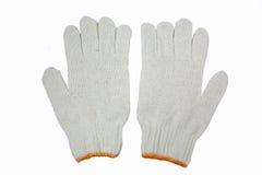 Γάντια βαμβακιού Στοκ εικόνα με δικαίωμα ελεύθερης χρήσης