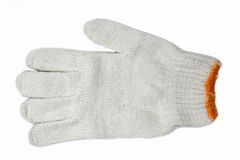Γάντια βαμβακιού Στοκ φωτογραφίες με δικαίωμα ελεύθερης χρήσης